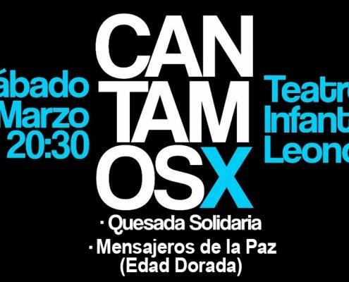 Concierto solidario Cantamos X Quesada solidaria y Edad Dorada Mensajeros de la Paz